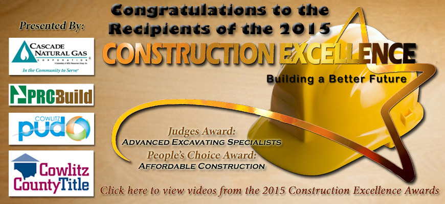 Construction Exellence Congratulations 2015 Slide