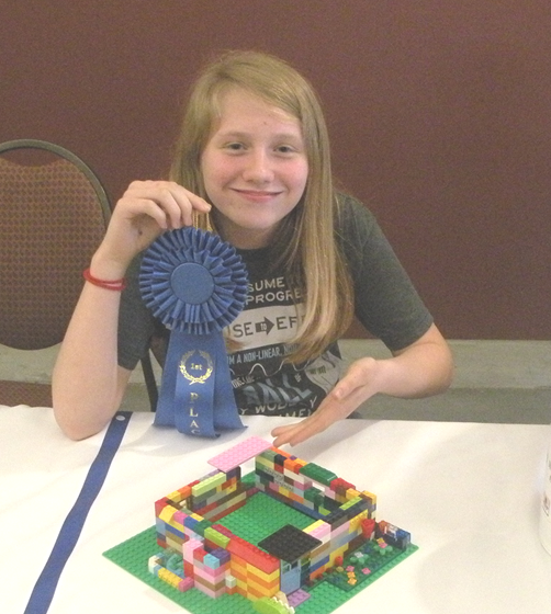 Lego 8 to 12 1st Place