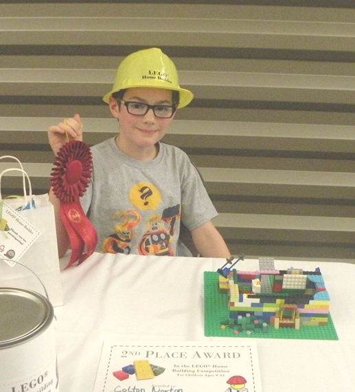 Lego 8 to 12 2nd Place