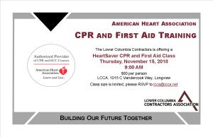 CPR FA Postcard November