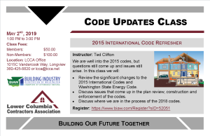 Code Updates Class May 2