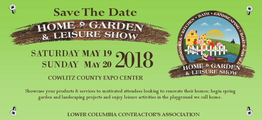 2018 Web Banner for Home Show SAVE THE DATE