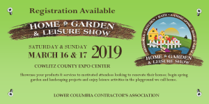 2019 Web Banner for Home Show Registration Available