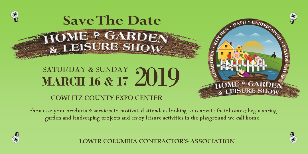2019 Web Banner for Home Show SAVE THE DATE