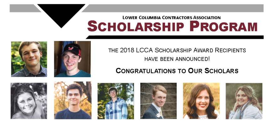 Scholarship Announced 2018 Web Banner